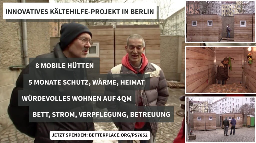 KAELTEHILFE BERLIN OBDACHLOSE PROJEKT MY MOLO CARITAS Kopie