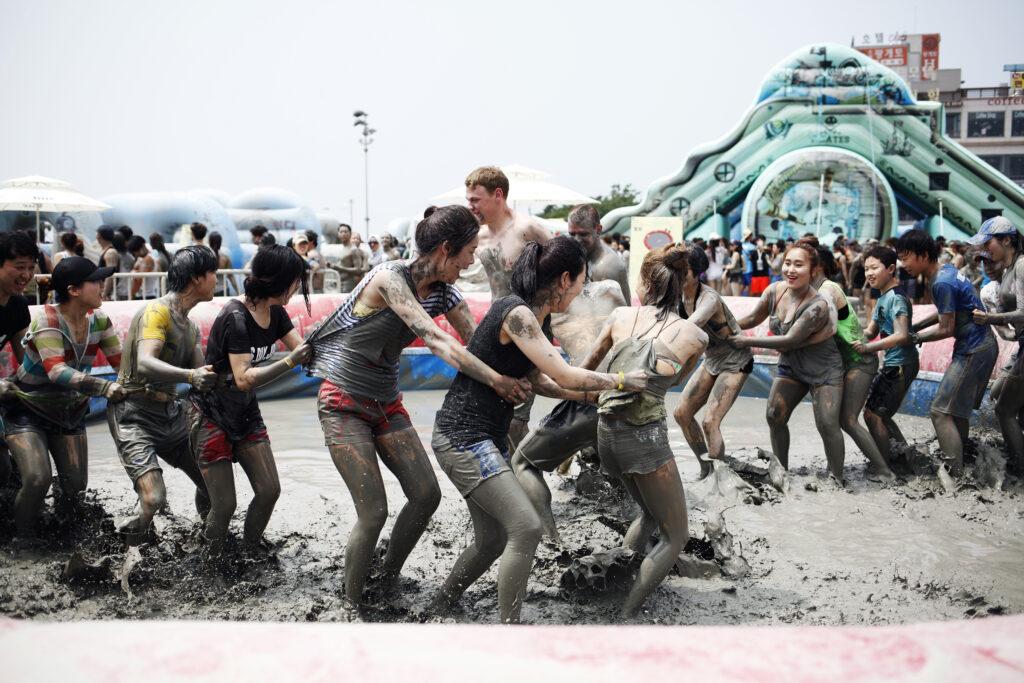 boryeang mud festival korea